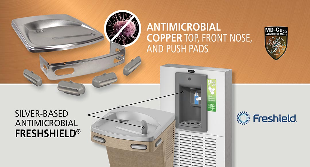 OASIS Antimicrobial Copper and FRESHIELD