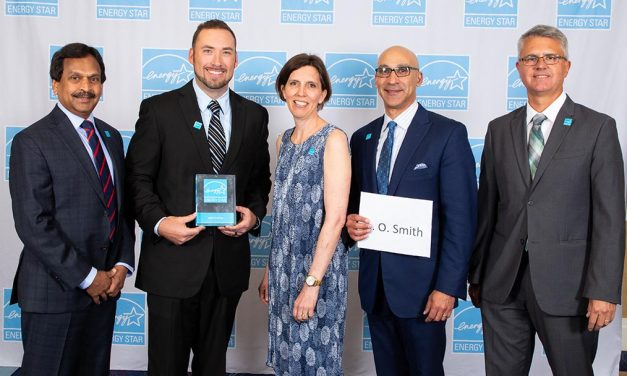 A.O Smith Receives Energy Star Award